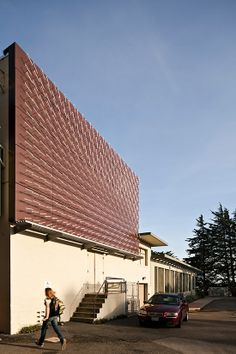 A Weathervane Wall Turns Wind Patterns Into Data Art. Via designer Charles Sowers at San Francisco's Randall Museum. [GM]