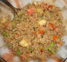 O trigo para quibe não serve somente para fazer quibe, e se usado em saladas, não precisa necessariamente ser o famoso tabule.     ...