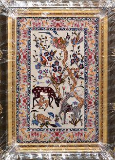 Esfahan Persian Rug, Buy Handmade Esfahan Persian Rug 2 4 x 3 6 , Authentic Persian Rug $1,480.00