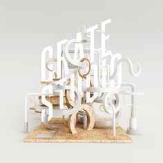 today we gathered Best Examples of Font Inspiration that you can use for graphic works .Typography is an art of making beautiful visuals using typeface. Inspiration Typographie, Typography Inspiration, Graphic Design Inspiration, Typo Design, 3d Design, Typography Design, Creative Design, Branding Design, Creative Typography