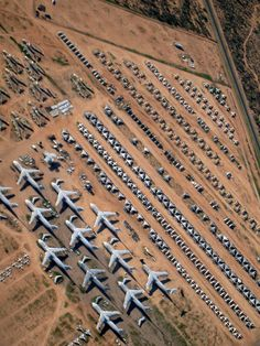 Airplane Boneyard - I've delivered a plane here....