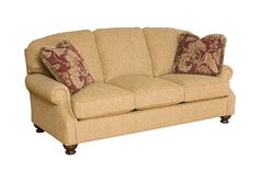Shop for King Hickory Bailey Fabric Sofa, 477486, and other Living Room Sofas at Kittle's Furniture in Indiana and Ohio. Seating Dimensions: Height 18 inches x Width 66 inches x Depth 21 inches.