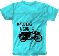 Like Gun Blue T-Shirt