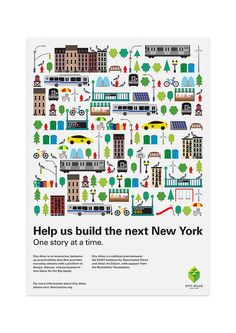 City Atlas Postcard