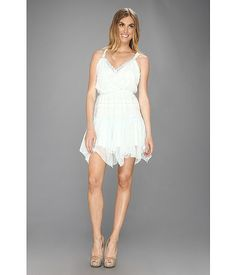 cdd3bc0387 Free People Shimmer Party Dress Mint - Zappos.com Free Shipping BOTH Ways Fringe  Dress