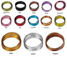NEW OASIS® 3/16 inch Flat Wire - available in 13 colors SO-2770-3-P