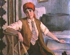 Isabel Branson Cartwright, Portrait, Mary Russell Colton, c. 1927, oil on canvas