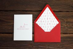 Penguins in Sweaters Holiday Card by Kimberly Munn, via Behance