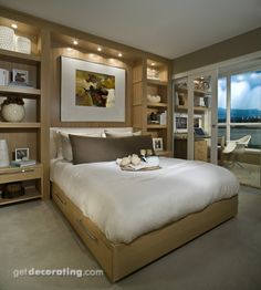 Bedroom Photos / Pictures, Decorating, Design & Decor Ideas for Bedrooms in the Home / House - GetDecorating.com