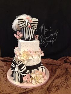 Ascot Cake by Reva Alexander-Hawk for Merci Beaucoup Cakes