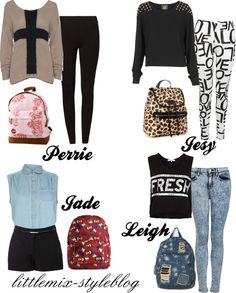 """""""*REQUESTED* LM Inspired Back to School ft. backpacks"""" by little-mix-fashion ❤ liked on Polyvore"""