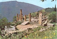 Oracle at Delphi -- Delphi, Greece
