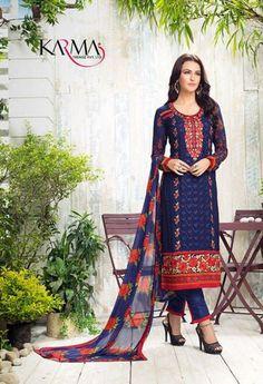 Blue Embroidered Salwar Made With Georgette & Printed Dupatta @ fashionsbyindia.com #designs #indian #womens #style #cloths #stylish #casual #fashionsbyindia #punjabi #suits #wedding #chic #elegance #beauty #outfits #fantasy #embroidered #dress #PakistaniFashion #Fashion #Longsuit #FloralEmbroidery #Fashionista #Fashion2015 #IndianWear #WeddingWear #Bridesmaid #BridalWear #PartyWear #Occasion #OnlineShopping #salwar #kameez #straightcut