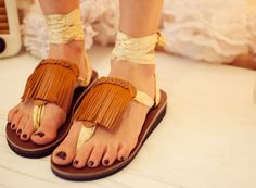 Sseko, navy straps, fringe accessory, sequins accessory, peony straps, silver straps - sandals with a story.  very cool.