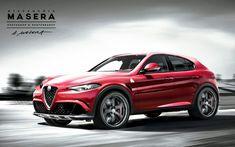 Cool New Alfa Romeo crossover