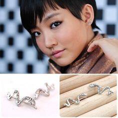 [YoonHa Style] Antic Snake Earring(Yoon-ha) $14 on kstargoods.com