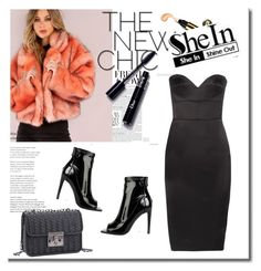"""""""SheIn 7/XII"""" by nermina-okanovic ❤ liked on Polyvore featuring Victoria Beckham and shein"""