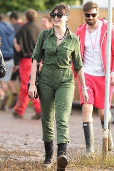 All The Celebrity Fashion At Glastonbury 2015 waysify
