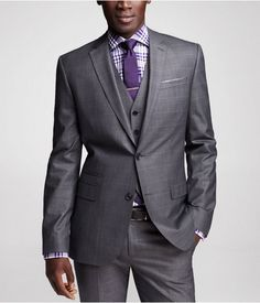 Express Windowpane Photographer Suit