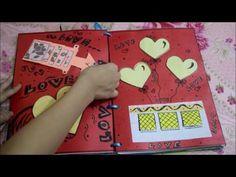 Handmade scrapbook - YouTube Craft Gifts, Diy Gifts, Clay Crafts, Paper Crafts, Diy Crafts Life Hacks, Diy Gift Box, Diy Box, Handmade Scrapbook, Useful Origami
