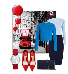 """""""Brisk walk London style ..."""" by parisareyhanian on Polyvore featuring Michael Kors, Glamorous, WearAll, STELLA McCARTNEY, Topshop and Roland Mouret"""