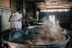 At last, having walked enough through the noisy streets, we go to the Golden Temple of Amritsar. We planed to visit The world's biggest free canteen too. Golden Temple, Amritsar, Canteen, Creative Photos, Food And Drink, Free