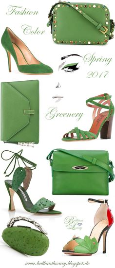 Brilliant Luxury by Emmy DE ♦ Fashion Color Spring 2017 ~ greenery