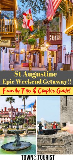 3 Day Itinerary Things to Do in St Augustine Beaches Family Guide! With Kids Ghost Tours Attractions in a day. via Travel Vacation List Holiday Tour Trip Destinations Florida Vacation, Florida Travel, Florida Beaches, Vacation Spots, Travel Usa, Vacation Ideas, Weekend Getaways With Kids, Weekend Trips, Day Trips
