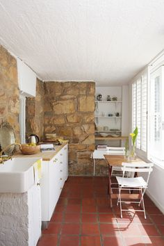 Earthy kitchen