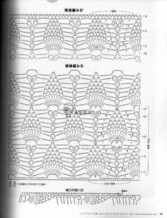 crochelinhasagulhas: Blusa em crochê em diferentes modelos