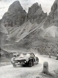 Mercedes-Benz 300SL Rally Car, 1956
