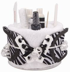 Safari Pedicure Pamper Cake New Mum Baby Shower Christmas Xmas Gift/Present | eBay