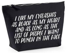 Etsy Canvas Makeup Bag, £8.00
