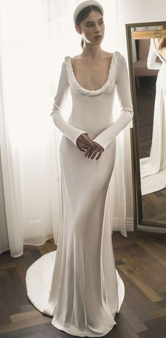 Ronalina 2020 Wedding Dresses : 2020 Bridal Collection Vintage Inspired Wedding Dresses, Designer Wedding Dresses, Wedding Readings, Wedding Attire, Bridal Collection, Boho Chic, Wedding Inspiration, Gowns, Bride
