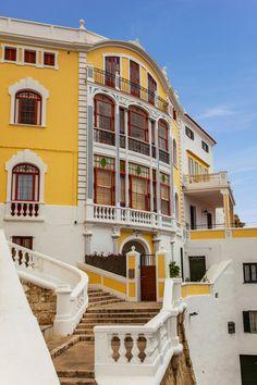 Mahón, Menorca, Spain  Maó-Mahón, sometimes written in English as Mahon is a municipality, capital city of the island Menorca, and seat of the Island Council of Menorca.