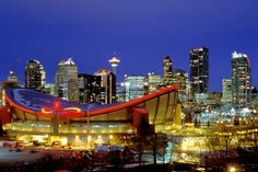 Downtown Calgary is a must-see when visiting the city of Calgary.