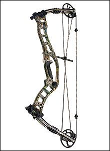 This is a Hoyt Turbohawk. I shoot one for my hunting bow.