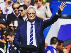 Claudio Ranieri - led Leicester City (yes Leicester City) to the Premier League title last season. Sacked mid-way through this season. What is becoming of the beautiful game. Always a legend in my eyes 'tinkerman'      #footyscout #football #soccer #footy #goals #training #instalike #player #champ #footballer #blogger #fast #love #game #futbol #club #sports #legend #run #instagood #score #winning #lcfc #leicester #england #premierleague #bpl #champion #victory