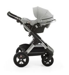Transforms into a travel system with all Stokke strollers – no adaptors needed! ALL NEW Stokke PIPA infant car seat by Nuna available USA only -- Pictured with Stokke Trailz Stroller (all terrain tires! Pram Stroller, Baby Strollers, Stroller Cover, Double Strollers, Stokke Trailz, Bringing Baby Home, Baby Arrival, Cool Baby Stuff, Baby Gear