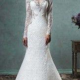 Beautiful mermaid wedding dress 2016