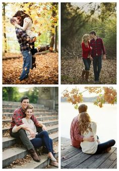 52 Romantic Fall Engagement Photo Ideas What do I love about fall? Beautiful warm colors of leaves and trees, cool weather, cozy cardigans, plaid blankets, sitting… Fall Photo Shoot Outfits, Engagement Photo Outfits, Engagement Photo Inspiration, Engagement Pictures, Wedding Inspiration, Wedding Photography Styles, Couple Photography, Engagement Photography, Outdoor Photography