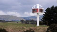 The Skysphere is based in Williams' native Palmerston, on New Zealand's North Island, but he believes it could be located anywhere.