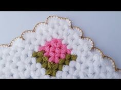 Crochet Stitches, Blanket, Flowers, Model, Pattern, Youtube, Towels, Tricot, Craft