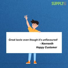 Flavour is about the product and taste is about you! Navneeth, we definitely love your taste! Amazon Reviews, Protein Blend, Definitions, Feel Good, Fitness Motivation, Stress, Love You, Nutrition, Crossfit