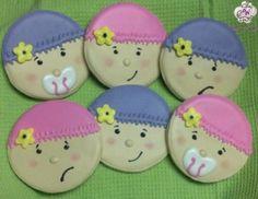 Baby Shower Cookies  Tenerissimi questi biscottini  www.decorazionidolci.it   Idee e strumenti per realizzare i tuoi #cookies