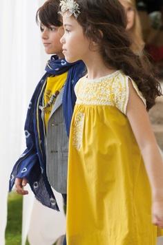 Wish my girlies were still little enough to appreciate the perfect yellow summer dress.  :P  (Défilé Summer 2013)