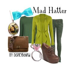 Alice in Wonderland Mad Hatter outfit!