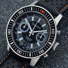 Gigandet SPEED TIMER Black / Grey Dial - G7-004