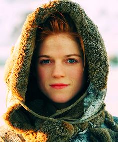"Ygritte the wildling introduced in season two of ""Game of Thrones."" Played by Scottish actress Rose Leslie who is known for her role on ""Downtown Abbey."""