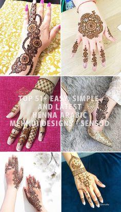 Top Easy, Simple and Latest Henna Arabic Mehndi Designs - Sensod - Create. Beautiful Arabic Mehndi Designs, Back Hand Mehndi Designs, Arabic Henna Designs, Mehndi Designs 2018, Stylish Mehndi Designs, Simple Mehndi Designs, Mehndi Desgin, Legs Mehndi Design, Latest Henna Designs
